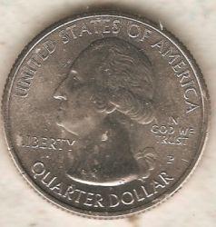 سکه > ¼دلار, 2018 - ایالات متحده آمریکا  (Cumberland Island National Seashore) - reverse
