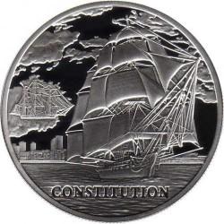 """Монета > 20рублей, 2010 - Беларусь  (Парусные корабли - """"Конститьюшн"""") - obverse"""