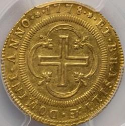 Coin > 2000reis, 1778-1783 - Brazil  - reverse