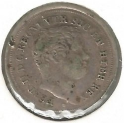 Кованица > 5grani, 1836-1847 - Две Сицилије  - obverse