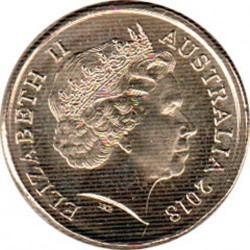 Coin > 2dollars, 2018 - Australia  (XXI Commonwealth Games 2018 - Borobi) - obverse