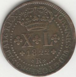Монета > 40рейса, 1818-1823 - Бразилия  - obverse