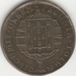 Монета > 40рейса, 1818-1823 - Бразилия  - reverse