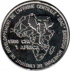 Moneta > 1500franchi, 2005 - Chad  (Ciad) - reverse