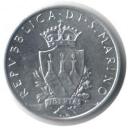 Монета > 5лір, 1979 - Сан-Марино  (Інституційні органи держави) - obverse