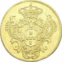 Coin > 6400reis, 1786-1790 - Brazil  - reverse