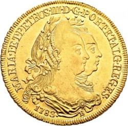 Coin > 6400reis, 1777-1786 - Brazil  - obverse