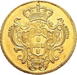 Coin > 6400reis, 1777-1786 - Brazil  - reverse