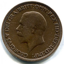 Moeda > ½pence, 1932 - Reino Unido  - obverse