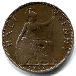 Moeda > ½pence, 1932 - Reino Unido  - reverse