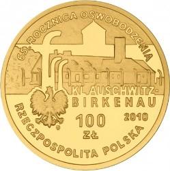 Moneda > 100zlotych, 2010 - Polonia  (65 aniversario -Liberación de KL Auschwitz-Birkenau) - obverse