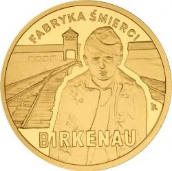 Moneda > 100zlotych, 2010 - Polonia  (65 aniversario -Liberación de KL Auschwitz-Birkenau) - reverse