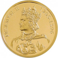 Münze > 100Złotych, 2004 - Polen  (Polish Rulers - King Przemyslaw II (1295-1296)) - obverse