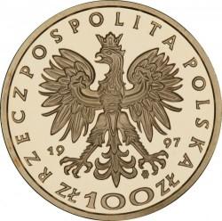 Moneda > 100zlotych, 1997 - Polonia  (Reyes y Princesas Polacas - Stefan Batory (1576-1586)) - obverse