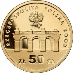 Moneda > 50zlotych, 2008 - Polonia  (90 aniversario - Independencia de Polonia) - obverse