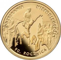 Moneda > 50zlotych, 2008 - Polonia  (90 aniversario - Independencia de Polonia) - reverse