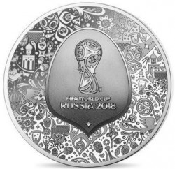 Coin > 10 euro, 2018 - France  (2018 World Football Cup Russia) - reverse