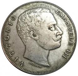 Moneda > 5liras, 1901 - Italia  - obverse
