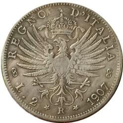 Münze > 2Lire, 1907 - Italien  - obverse