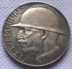 Moneda > 20liras, 1928 - Italia  (10 aniversario del fin de la Primera Guerra Mundial) - obverse