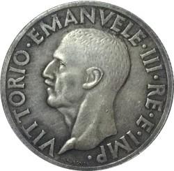 Moneta > 1lira, 1936 - Italija  - obverse