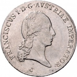 Монета > 1талер, 1807-1810 - Австрия  - obverse