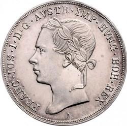 Monedă > ½taler, 1848-1851 - Austria  - obverse