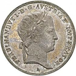 Moneda > ½taler, 1835-1836 - Austria  - obverse