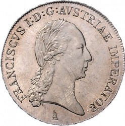 Moneda > ½taler, 1811-1815 - Austria  - obverse