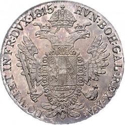 Moneda > ½taler, 1811-1815 - Austria  - reverse