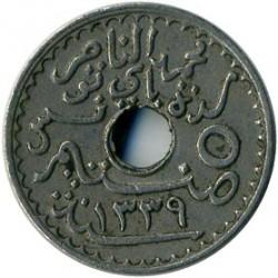 მონეტა > 5სანტიმი, 1920 - ტუნისი  (Diameter 17mm) - obverse