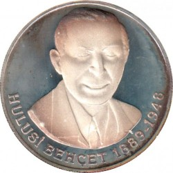 Münze > 1.000.000Lira, 1996 - Türkei  (Hulusi Behçet) - reverse