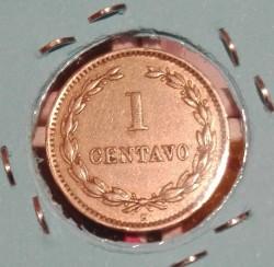 Munt > 1centavo, 1889-1913 - El Salvador  - reverse