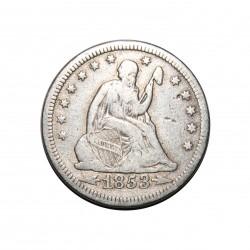 Munt > ¼dollar, 1853 - Verenigde Staten  (Seated Liberty Quarter) - obverse