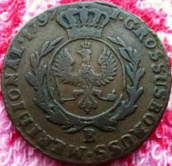 Moneta > 1grosz, 1787-1797 - Prusy  - reverse
