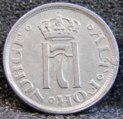 Moneta > 25erės, 1921-1923 - Norvegija  - obverse