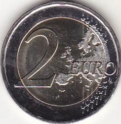 Moneta > 2euro, 2018 - Grecja  (75 rocznica śmierci - Kostis Palamas) - obverse