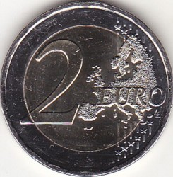 Moneda > 2euros, 2018 - Grecia  (70th Anniversary - Union of the Dodecanese With Greece) - obverse