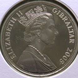 Moneta > 1corona, 2005 - Gibilterra  (Un anno reale - Investiture) - obverse