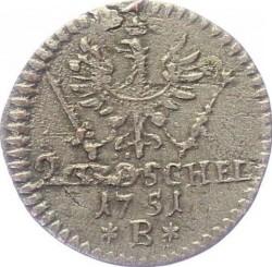 Монета > 2гроша, 1745-1754 - Прусия  - reverse