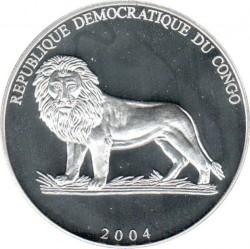 Coin > 10francs, 2004 - Congo - DRC  (Soccer - Netherlands) - obverse