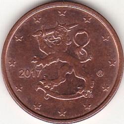 Монета > 5євроцентів, 2017 - Фінляндія  - reverse