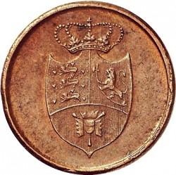Кованица > 3skilling, 1815 - Данска  - obverse