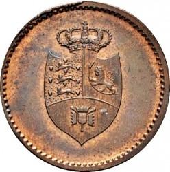 سکه > 6اسکیلینگ, 1813 - دانمارک  - obverse