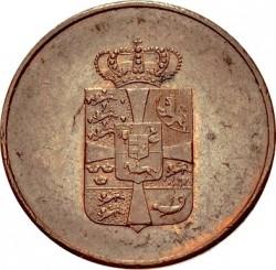 Монета > 16скилинга, 1814 - Дания  - obverse
