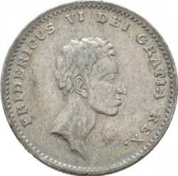 سکه > 1ریسبانکدالر, 1813-1819 - دانمارک  - obverse