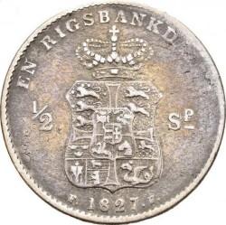 Moneda > 1rigsbankdaler, 1826-1828 - Dinamarca  - reverse