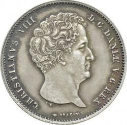 Кованица > 1ригсбанкдалер, 1842-1847 - Данска  - obverse