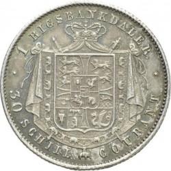 Кованица > 1ригсбанкдалер, 1842-1847 - Данска  - reverse