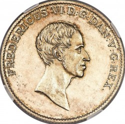 Monedă > 1speciedaler, 1820-1839 - Danemarca  - obverse